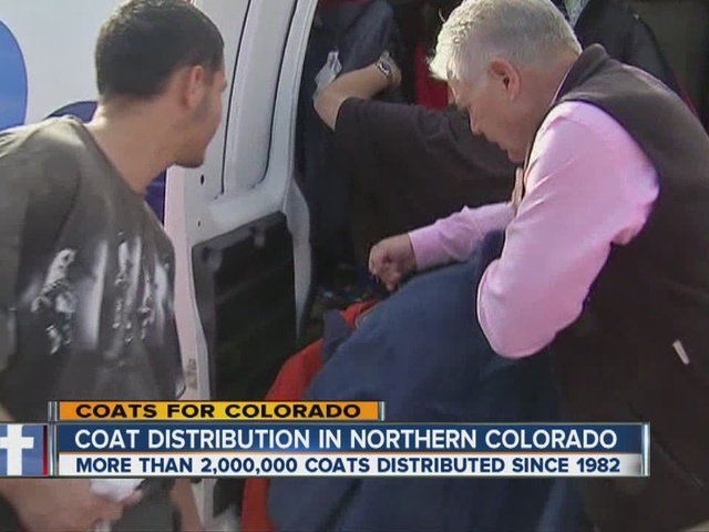 Coat Distribution in Colorado Flood Zone