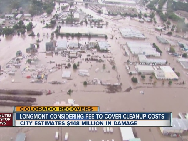 Longmont considering free to cover flood cleanup costs