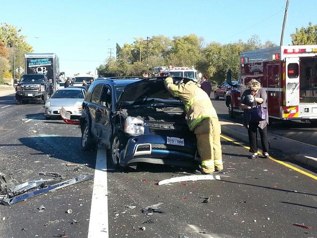 Michigan Car Crashes August