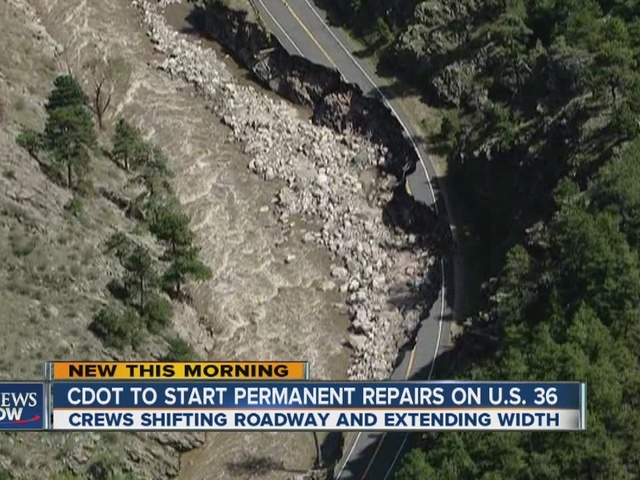 Repairs begin on flood damaged highway