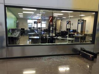 Man gets probation for vandalizing high school