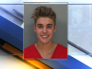 Police video of Bieber's urine test released