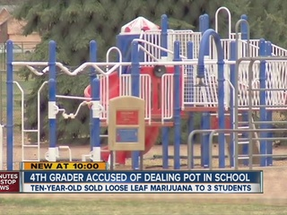 4th grader sells pot for $11 at Colorado school