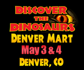 Discover the Dinosaurs Roars into Denver