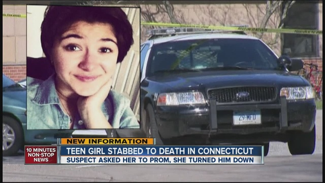 Girl stabbed to death inside Connecticut high school may have rejected ...