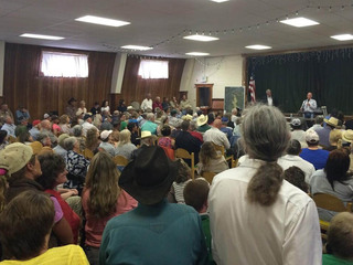 Collbran residents pack meeting on mudslide risk