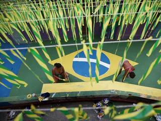 World Cup 2014: Brazil gets ready