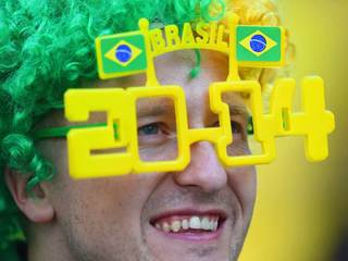 World Cup 2014: Opening ceremony in Brazil