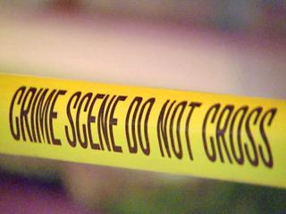 Suspect shoots himself