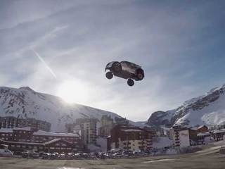 WATCH: Record-breaking car jump goes wrong