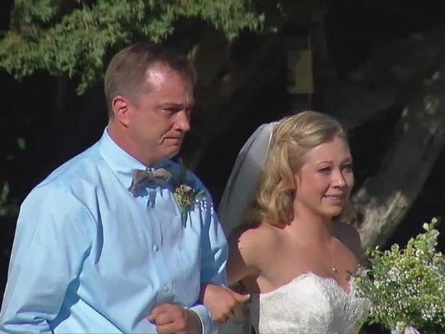 centennial bride gets fairytale wedding days after fire