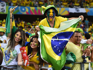 Brazil beats Colombia 2-1 to reach semifinals