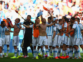 Argentina plays Germany in World Cup final