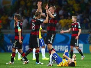 Germany routs Brazil 7-1, reaches Cup finals
