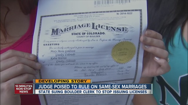 Colorado gay marriage requirements