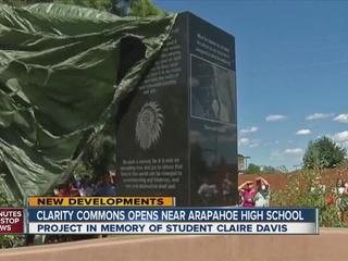 Park honoring Claire Davis unveiled