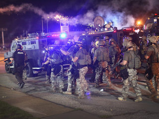 Militarized police: Weapons program under review