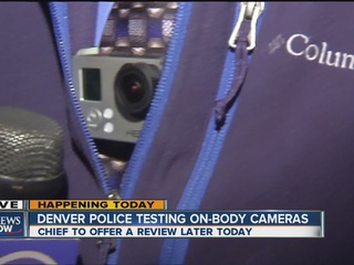 Police to reveal results of bodycam experiment