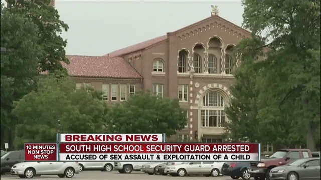 south high school security guard accused sexting with students