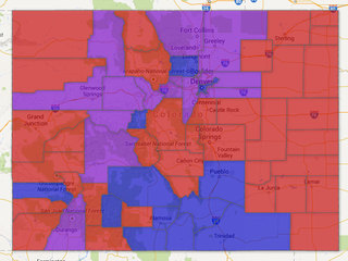 Voter data: See where each party is dominant