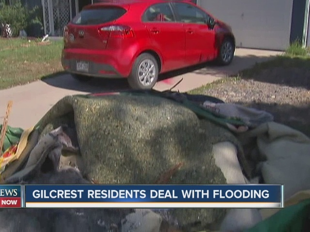 some gilcrest residents dealing with flooded basements say no one