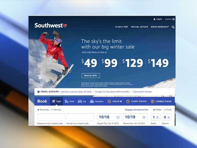 cheapest southwest airline tickets