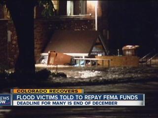 FEMA wants money back from 243 flood victims