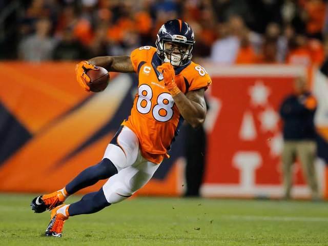 Demaryius Thomas Says He Ll Give Broncos A Break Denver7