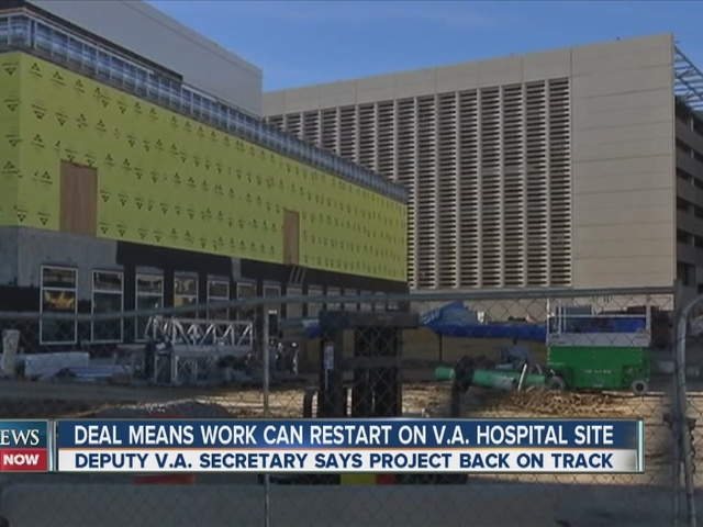 Officials Say Stalled Construction On New Va Hospital In