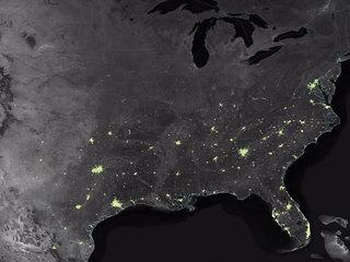 NASA: Earth becomes brighter during holidays