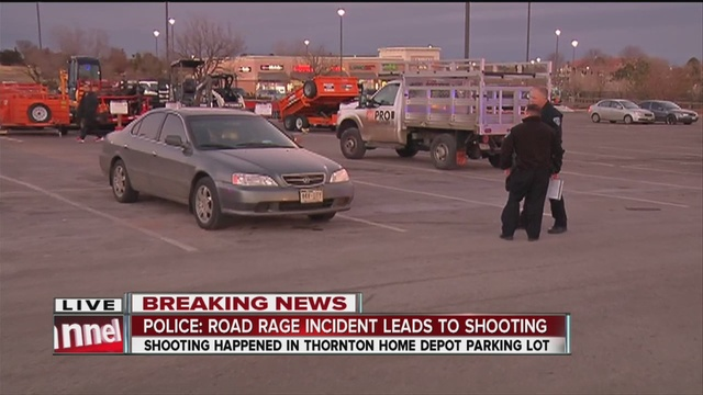 Police Are Investigating A Shooting Outside Home Depot Location In Thornton Which Victim Was Hit The Head