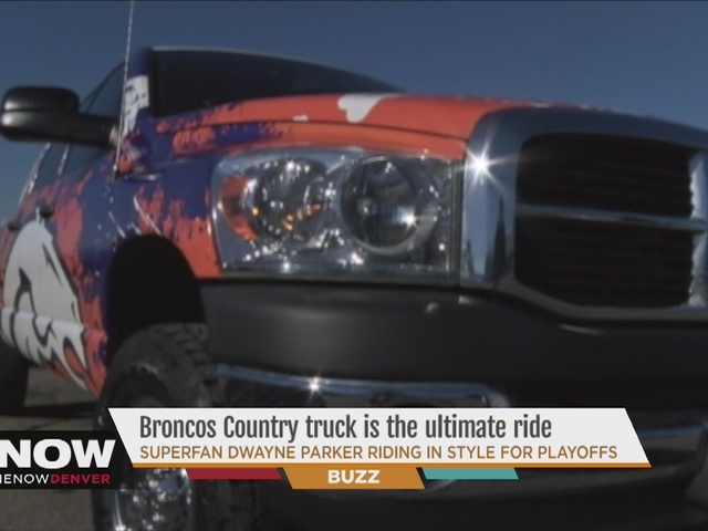 Superfan Dwayne Parker Broncos Country truck is the ultimate ride for ...