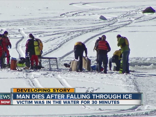 volunteer driver dies after plow falls through ice on evergreen lake  jefferson county coroner