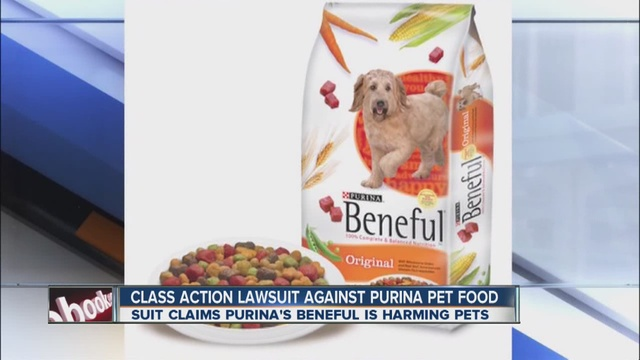 Beneful dry kibble dog food targeted by lawsuit claiming the brand