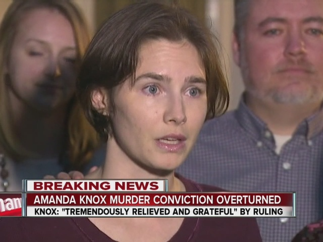 Amanda Knox S Conviction Overturned By Italy S Highest
