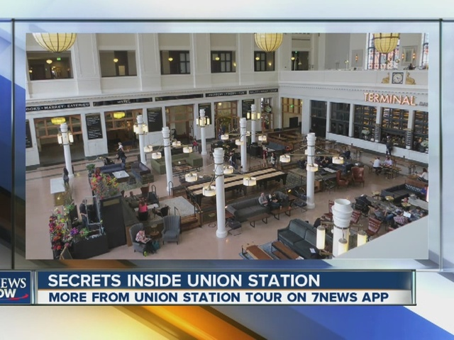 Check out the secrets of Union Station