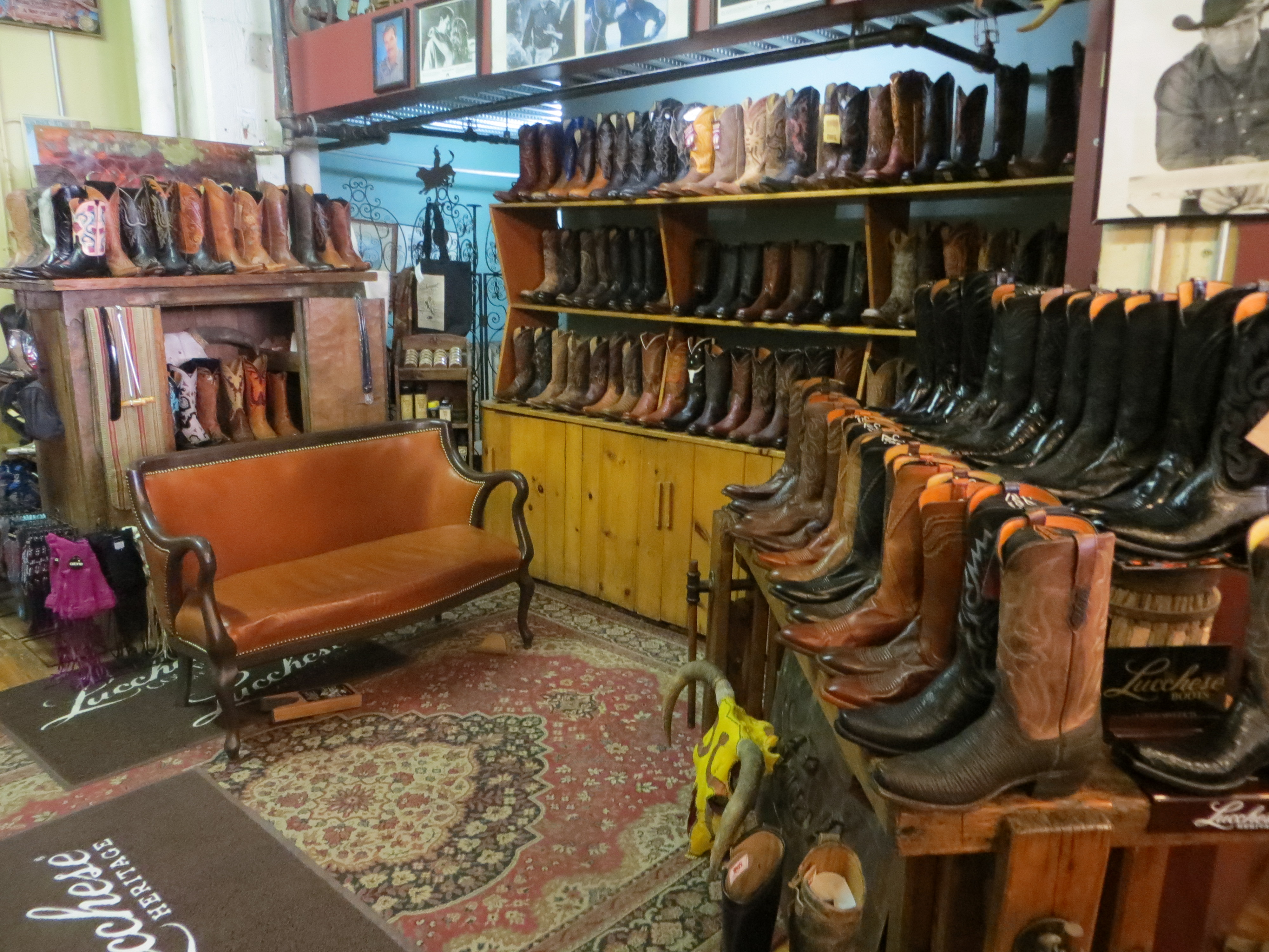 Where to buy cowboy boots in houston. Mens SHSU boots