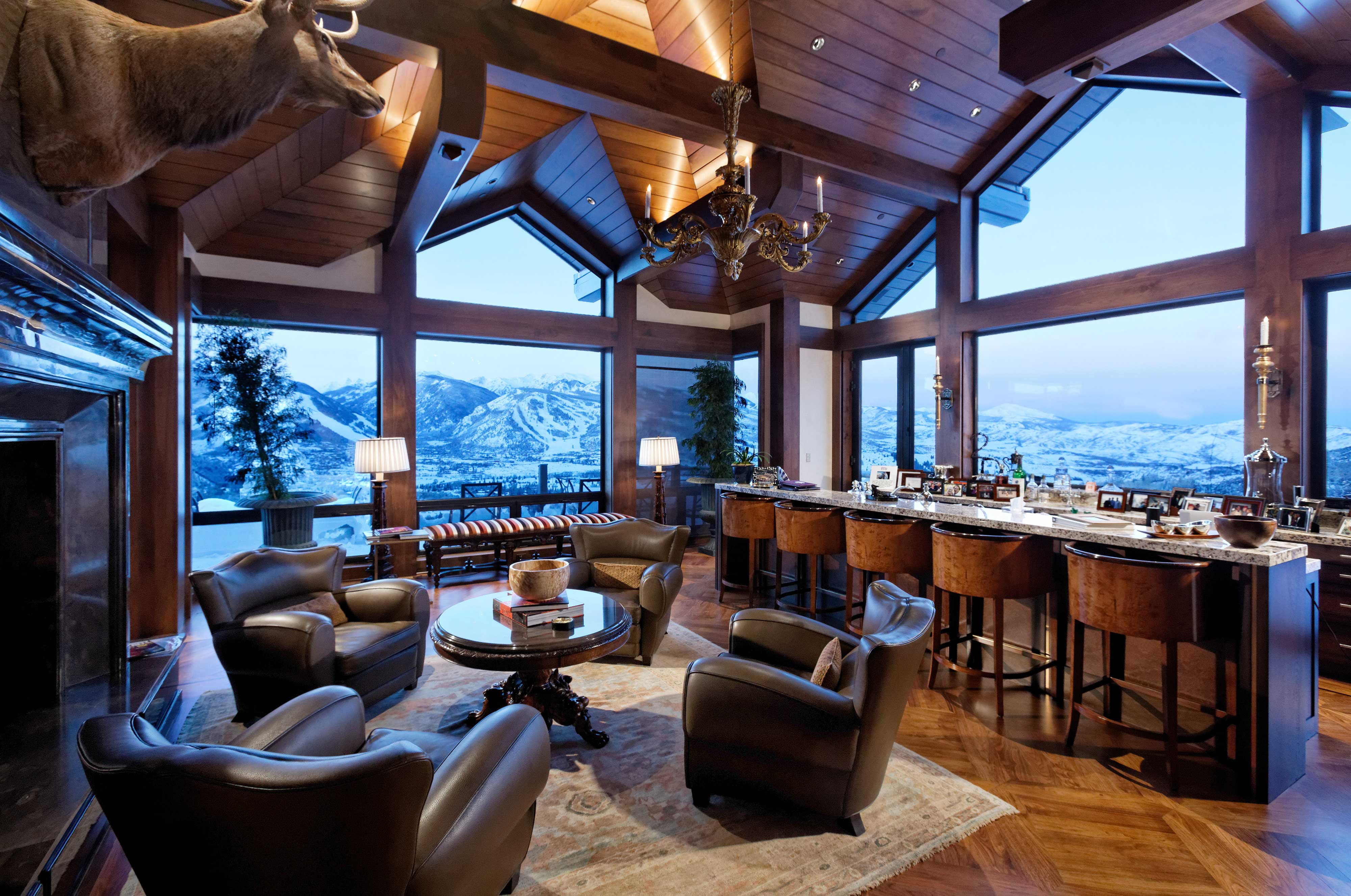 extreme homes of colorado see aspen 39 s summit house at