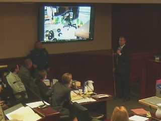 Theater shooting trial evidence: IEDs & traps