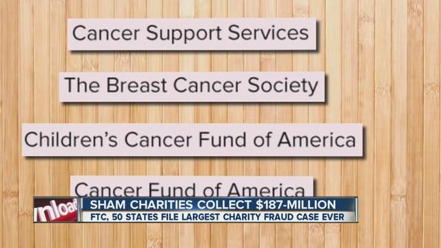 Breast cancer society fraud