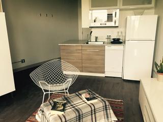 Landmark denver hotel repurposed as 39 micro 39 apartment for Micro apartments denver