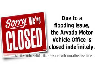 Jeffco Motor Vehicle Office Closed By Burst Pipe Flooding