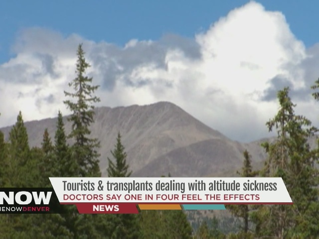 Tourists and transplants are dealing with altitude sickness in the ...