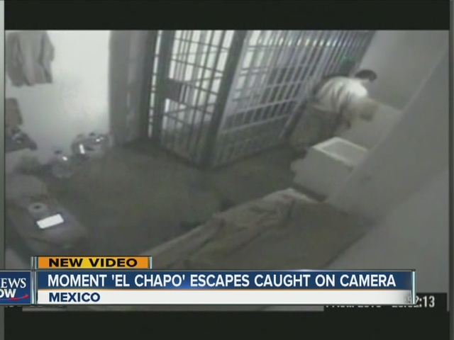 escape tunnel for mexican drug lord  u0026 39 el chapo guzman