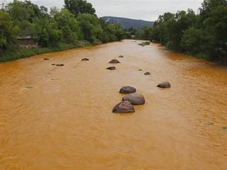 EPA: Metals get into creek near mine spill site