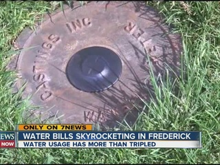 Frederick leaders respond to spike in water bill