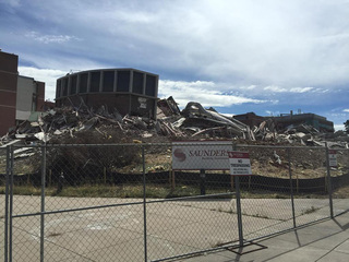 Implosion paves the way for $400 million project