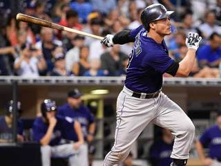 Rockies' Arenado named NL player of the month