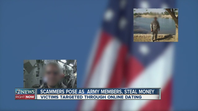 online dating scams involving military Online romance scams bilk people out of more than $200 million a year, but humans' hard-wiring makes the frauds hard to stop  in online dating, 'sextortion' and scams image credit .