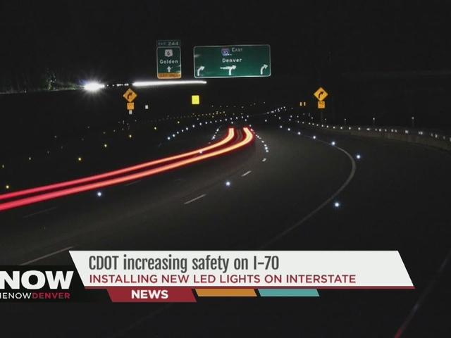 Gas Prices Denver >> Solar-powered LEDs being installed on I-70 eastbound from the Eisenhower tunnel - Denver7 ...